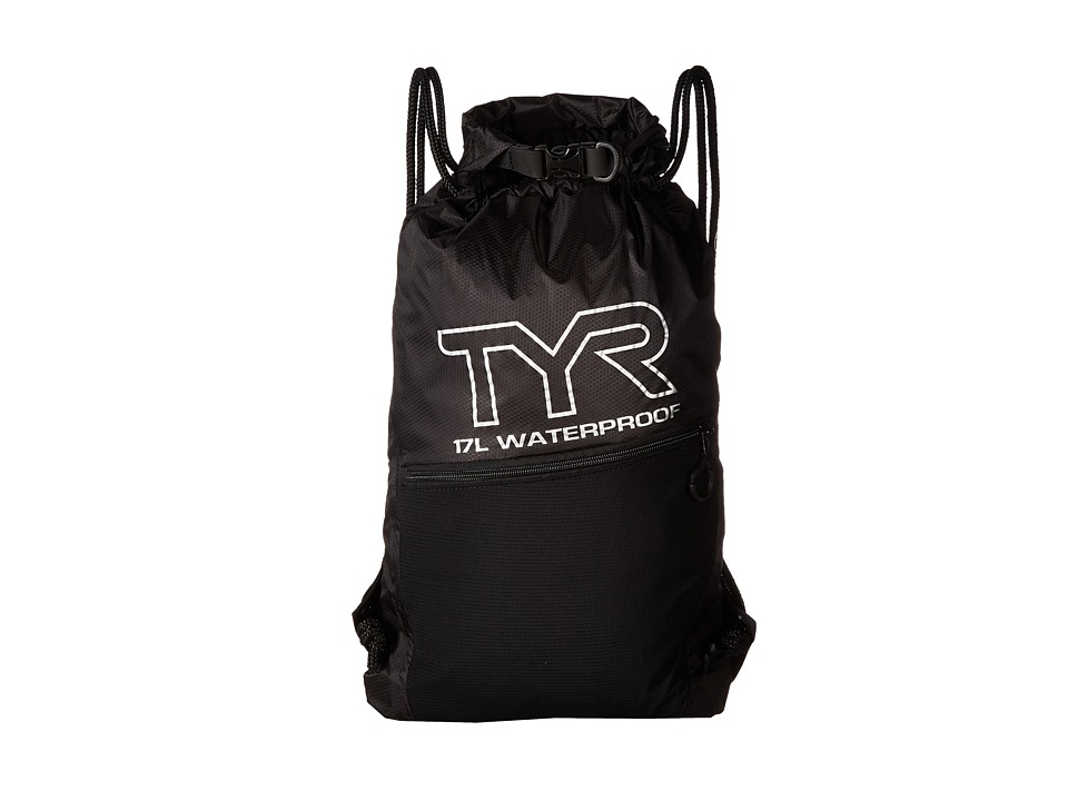 TYR - Alliance Waterproof Sack Pack (Black) Drawstring Handbags