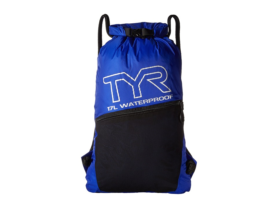 TYR - Alliance Waterproof Sack Pack (Royal) Drawstring Handbags