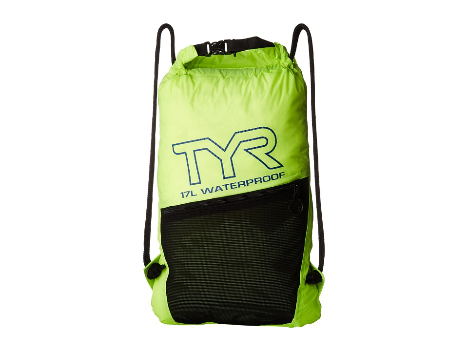 TYR - Alliance Waterproof Sack Pack (Flourescent/Yellow) Drawstring Handbags