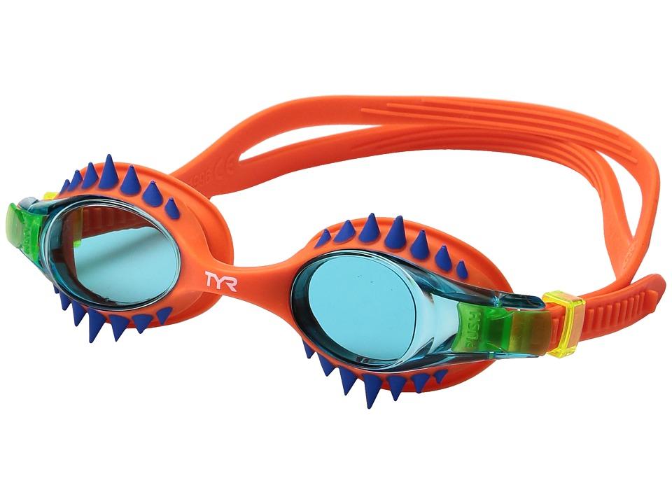 TYR - Swimple Spikes (Blue/Orange/Orange) Goggles