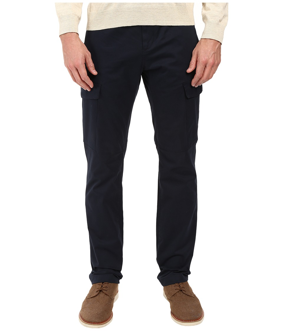 Perry Ellis - Slim Cargo Pants (Dark Sapphire) Men's Casual Pants
