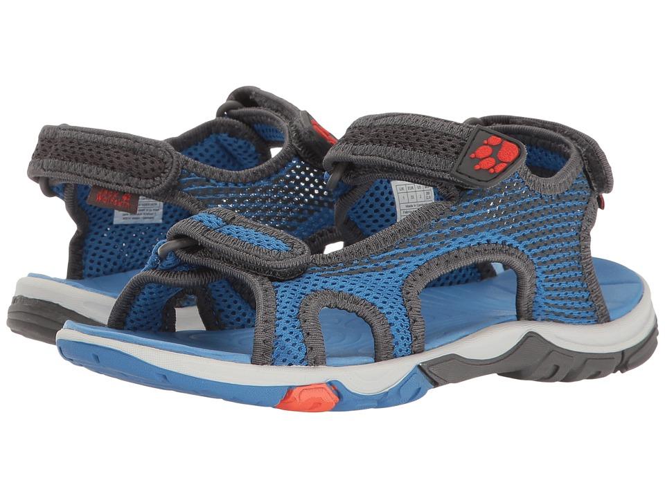 Jack Wolfskin Kids - Puno Bay Splash Sandal B (Toddler/Little Kid/Big Kid) (Wave Blue) Boys Shoes