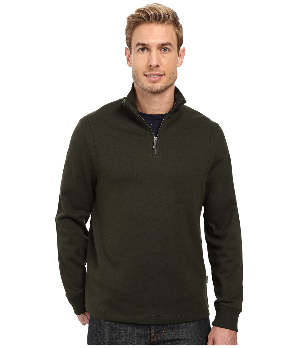 Perry Ellis - Iridescent 1/4 Zip Jacket (Rosin) Men's Coat