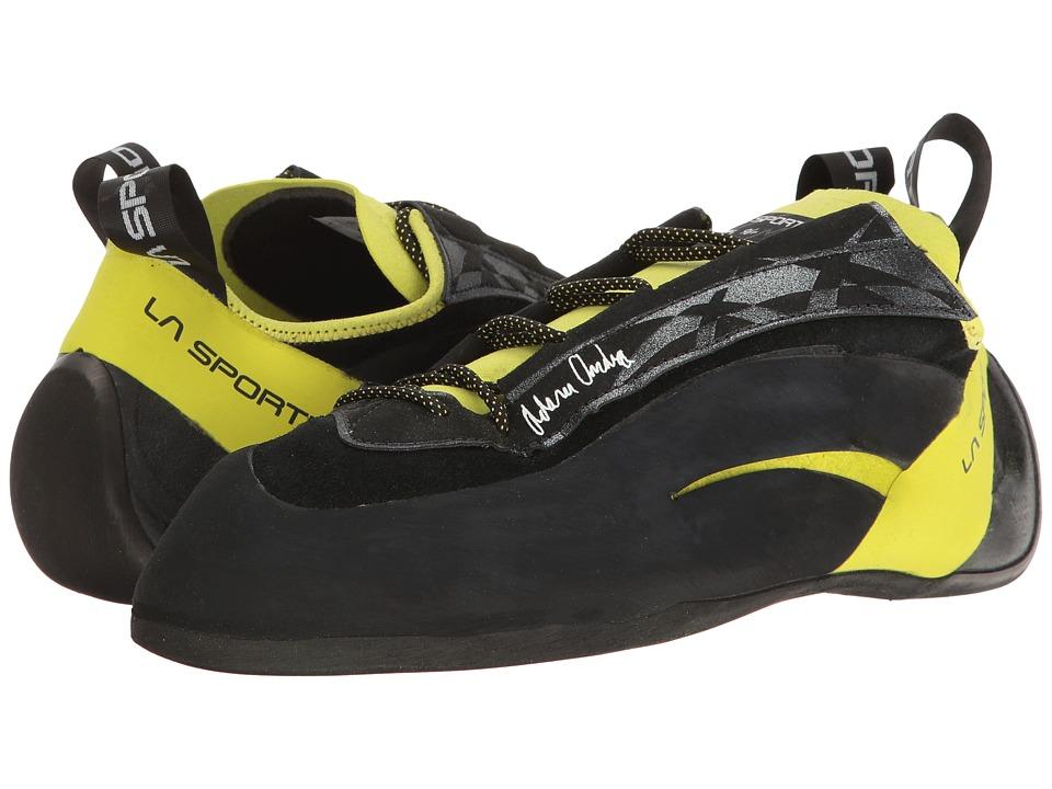 La Sportiva - Miura XX (Black/Sulphur) Men's Shoes