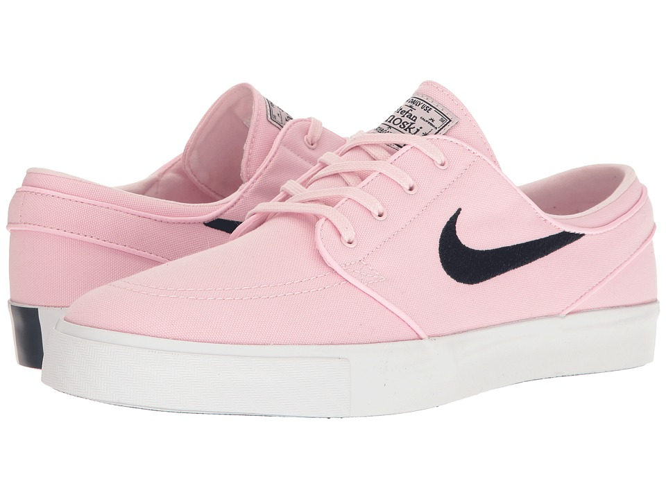 Nike SB - Zoom Stefan Janoski Canvas (Prism Pink/Obsidian) Men's Skate Shoes