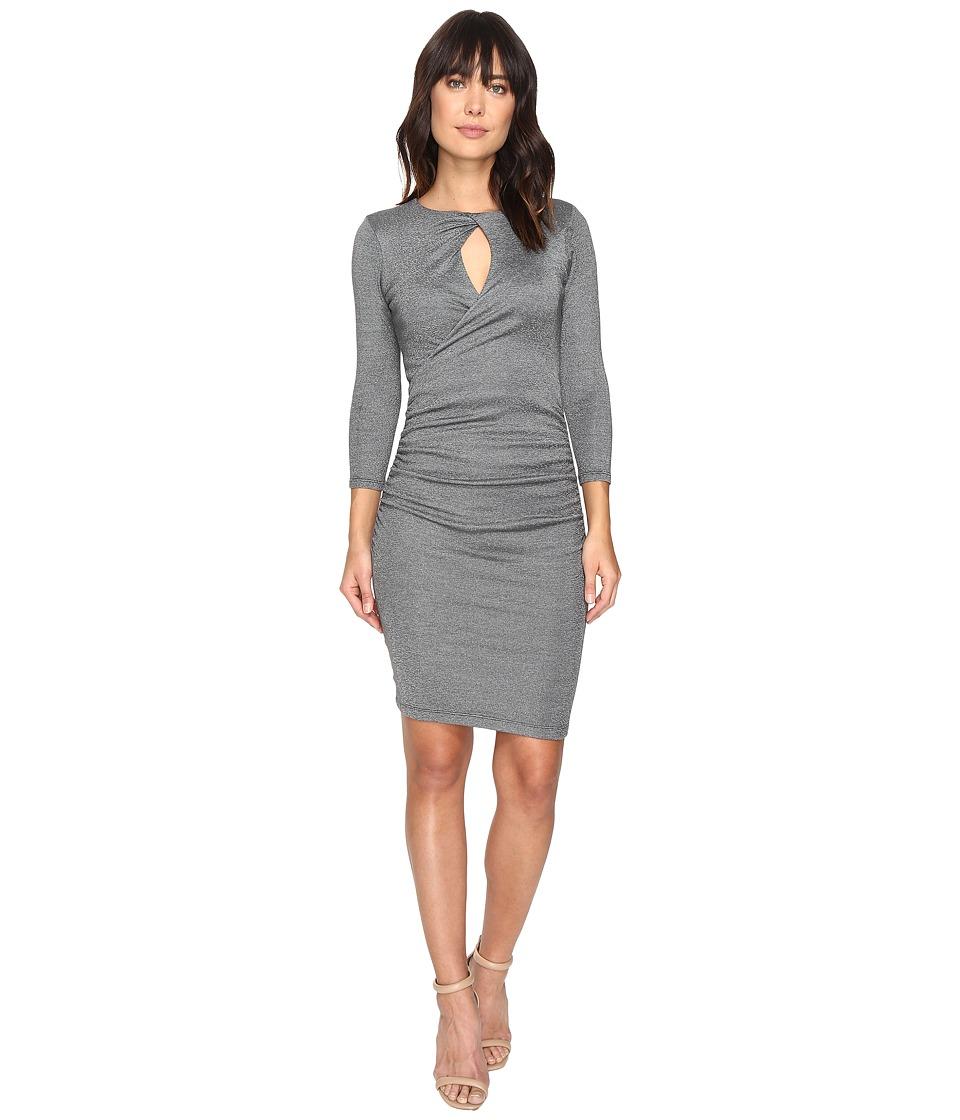 Michael Stars - Shine Twisted Keyhole Dress (Oxide) Women's Dress