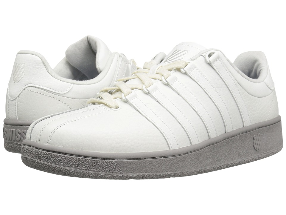 K-Swiss - Classic VN (Blanc De Blanc/Ash) Men's Shoes