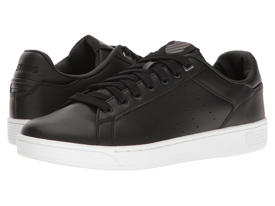 K-Swiss - Clean Court CMF (Black/White) Men's Tennis Shoes