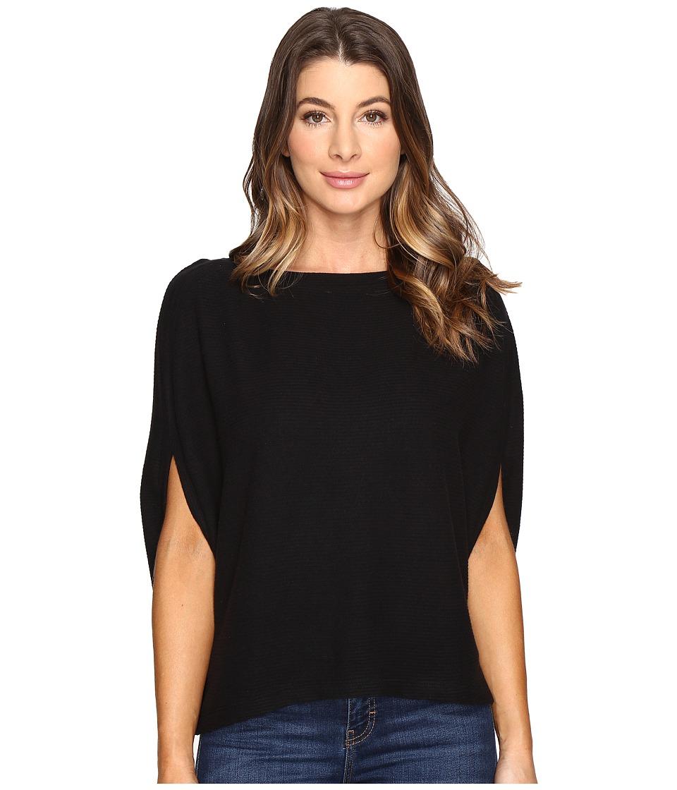 Michael Stars - Super Soft Madison Rib Cape (Black) Women's Clothing