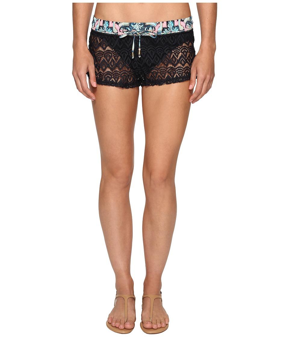 Maaji Hello Sunny Shorts Cover-Up (Black) Women