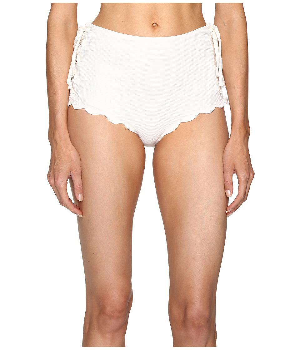 Marysia - Palm Springs Tie Bikini Bottom (Coconut) Women's Swimwear
