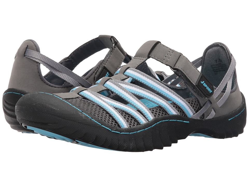 JBU Jetty Encore (Charcoal/Blue Microbuck/Mesh) Women