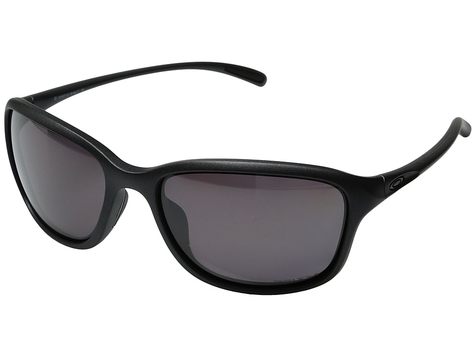 Oakley - She's Unstoppable (Steel/Prizm Daily Polarized) Plastic Frame Fashion Sunglasses