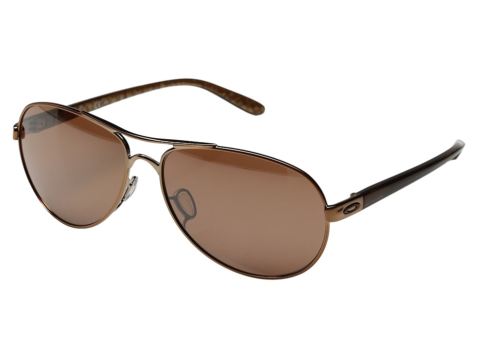 Oakley - Feedback (Burnt Copper/VR28 Black Iridium) Sport Sunglasses