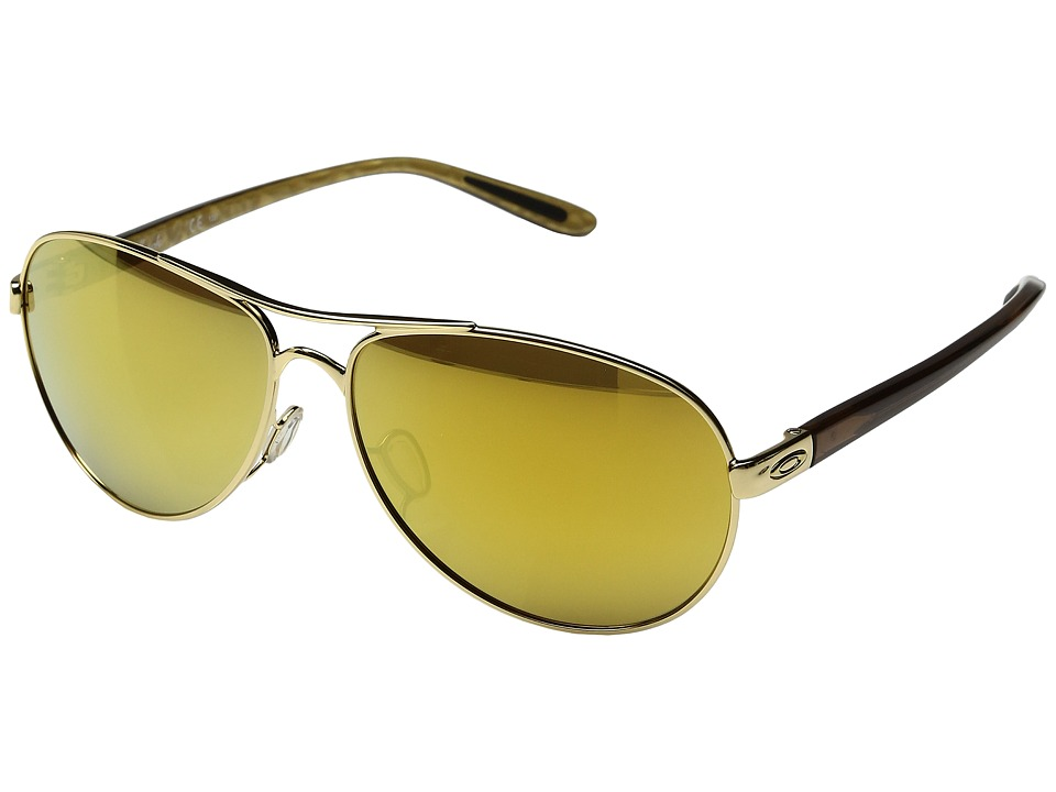 Oakley - Feedback (Polished Gold/24K Iridium) Sport Sunglasses