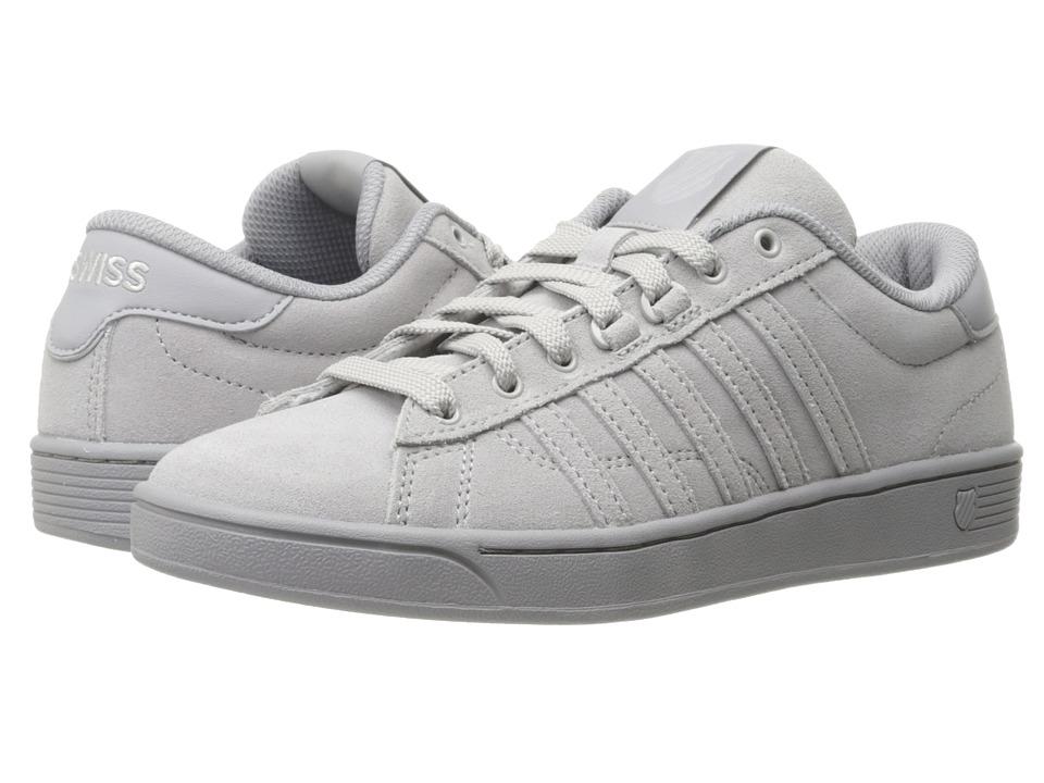 K-Swiss - Hoke Suede CMF (Gull Gray/Silver Sconce) Women's Skate Shoes