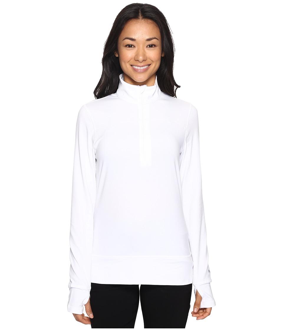 PUMA Golf - 1/4 Zip Popover (Bright White) Women's Sweater