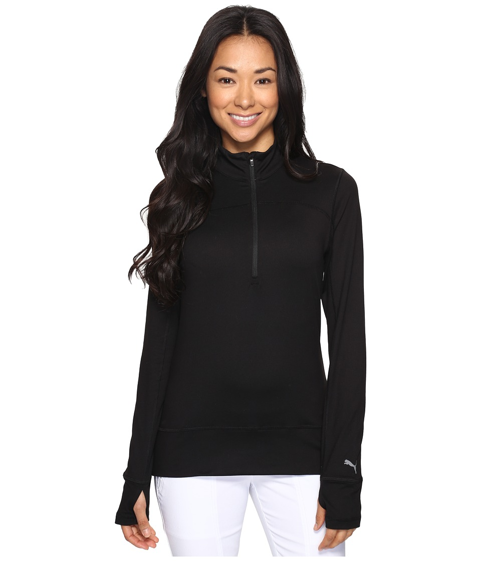 PUMA Golf - 1/4 Zip Popover (PUMA Black) Women's Sweater