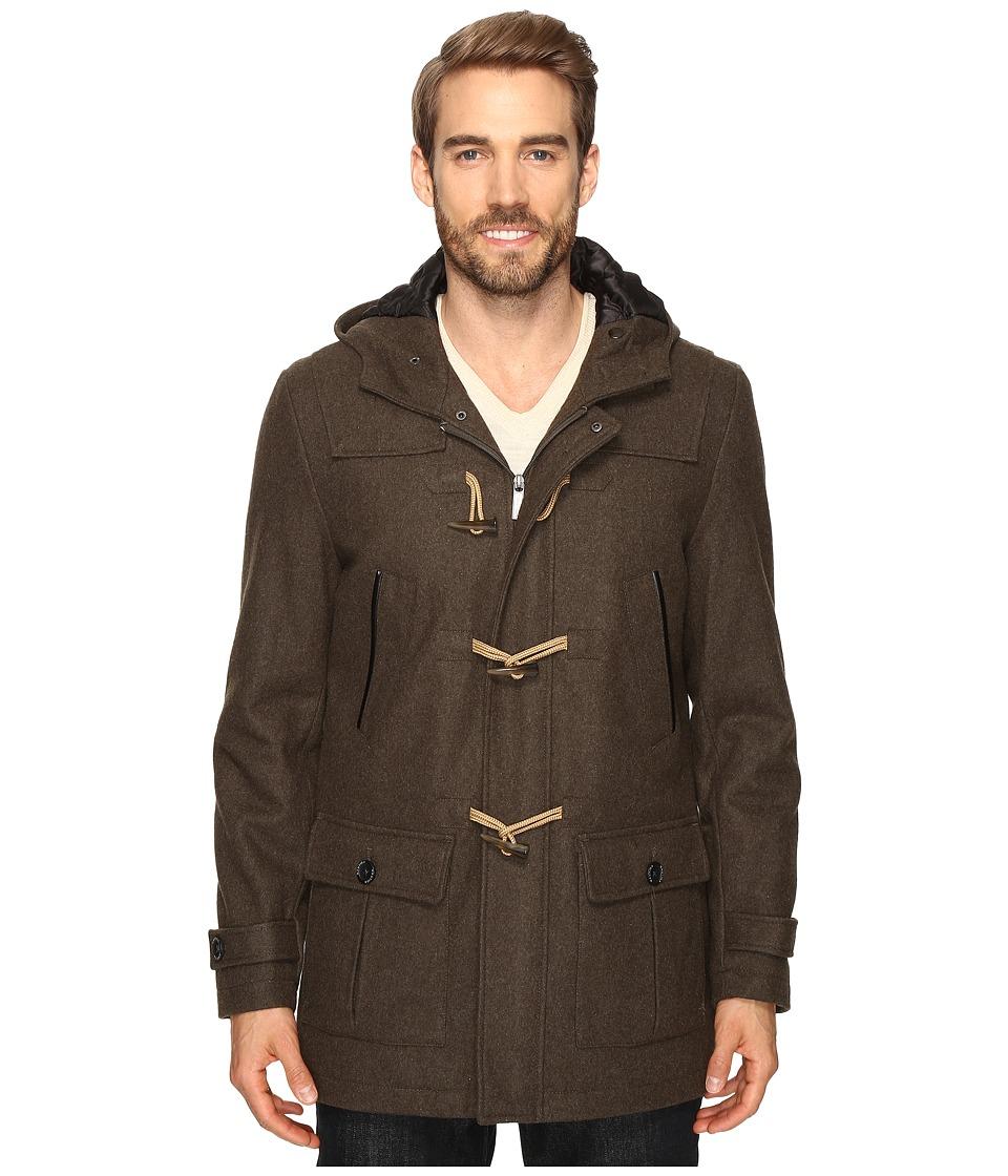Nautica - Wool Melton Toggle Coat (Loden) Men's Coat