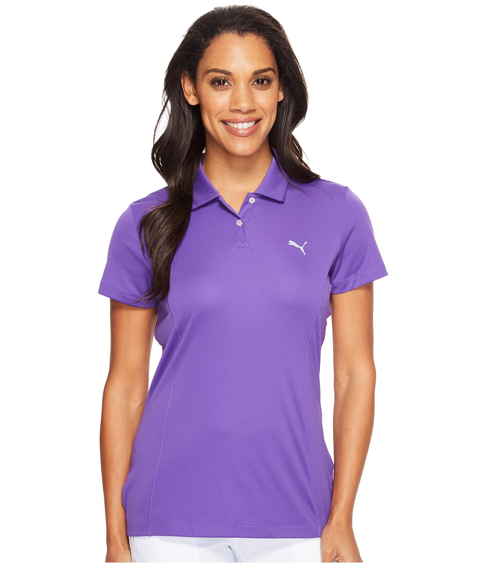 PUMA Golf - Pounce Polo (Royal Purple) Women's Short Sleeve Pullover