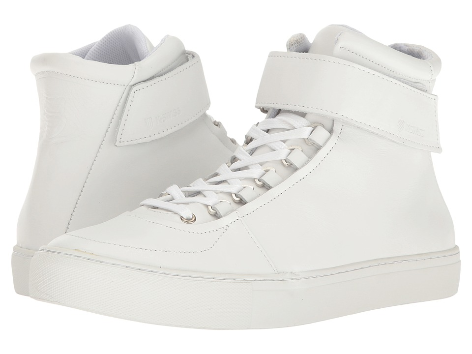 K-Swiss - High Court (White/Off-White) Men's Tennis Shoes