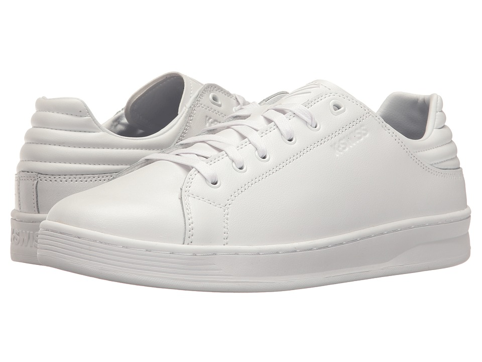 K-Swiss - Quick Court (White/White) Men's Tennis Shoes