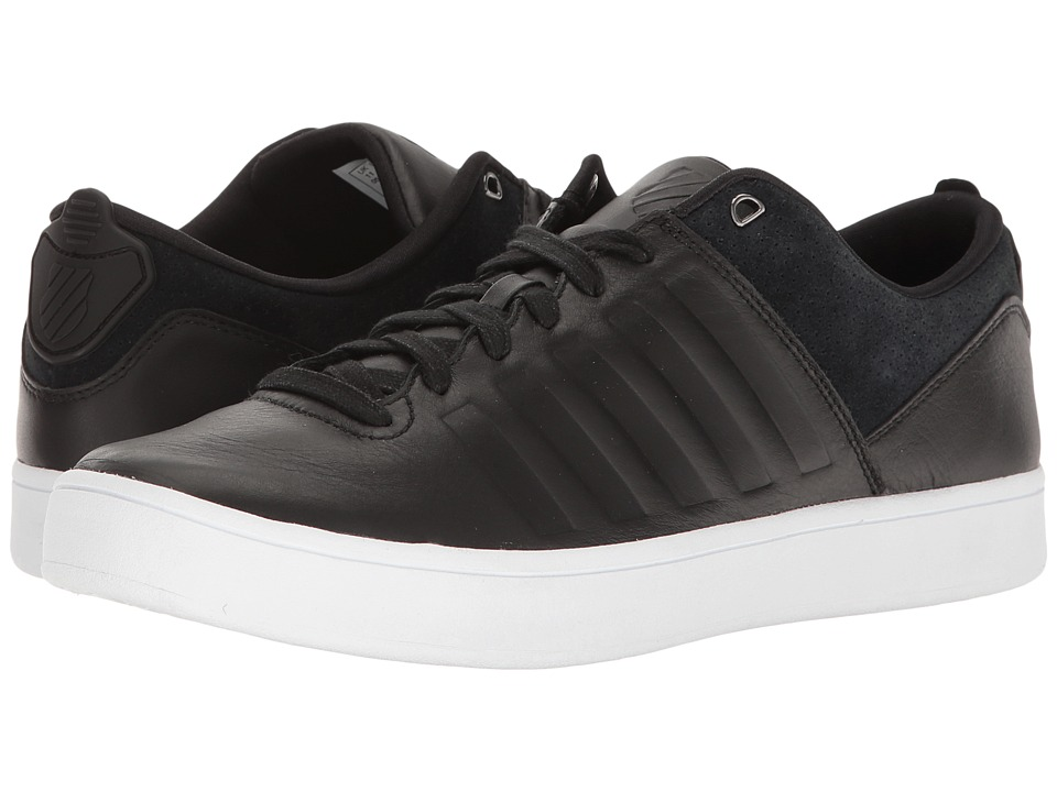 K-Swiss - Court Westan (Black/White) Men's Tennis Shoes