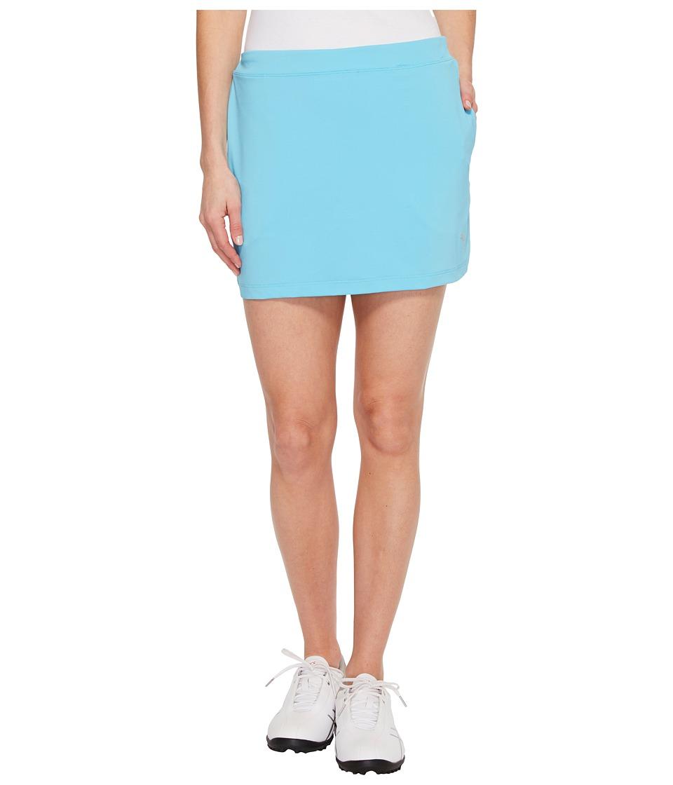 PUMA Golf Solid Knit Skirt (Blue Atoll) Women
