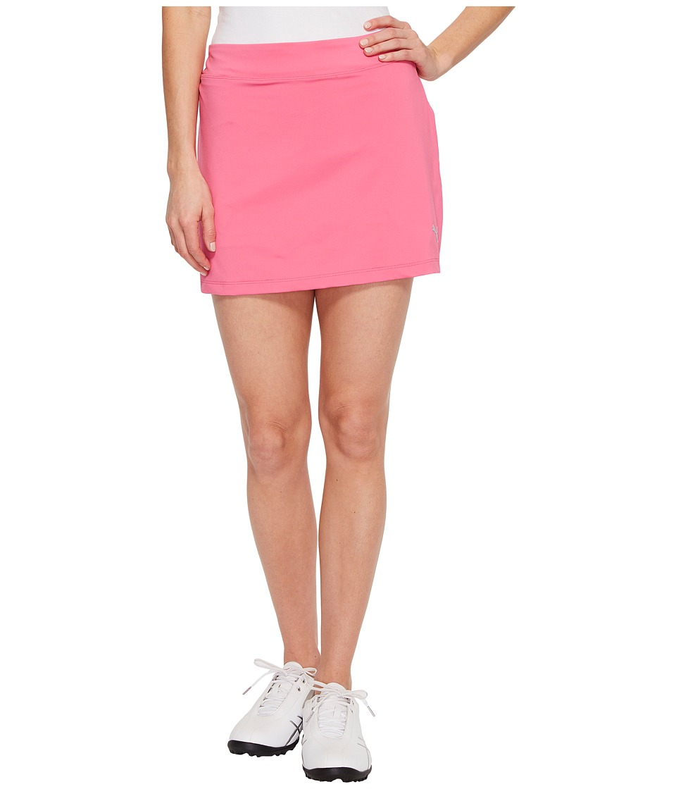 PUMA Golf Solid Knit Skirt (Shocking Pink) Women