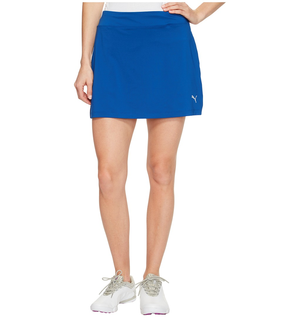 PUMA Golf - Solid Knit Skirt (True Blue) Women's Skirt