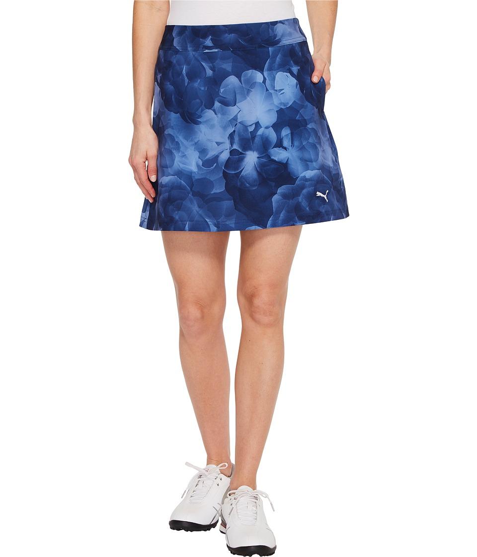 PUMA Golf - Bloom Skirt (Peacoat) Women's Skirt