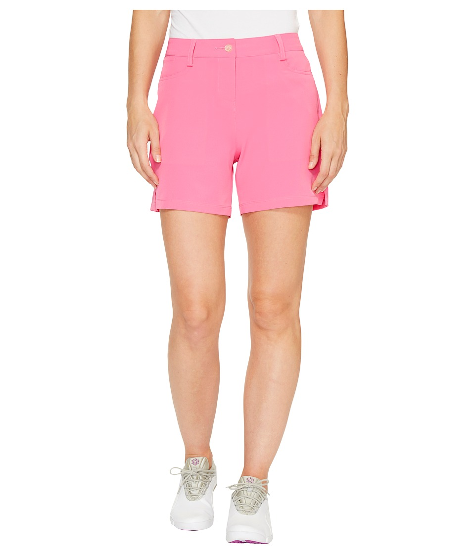 PUMA Golf - Solid Shorts 5 (Shocking Pink) Women's Shorts