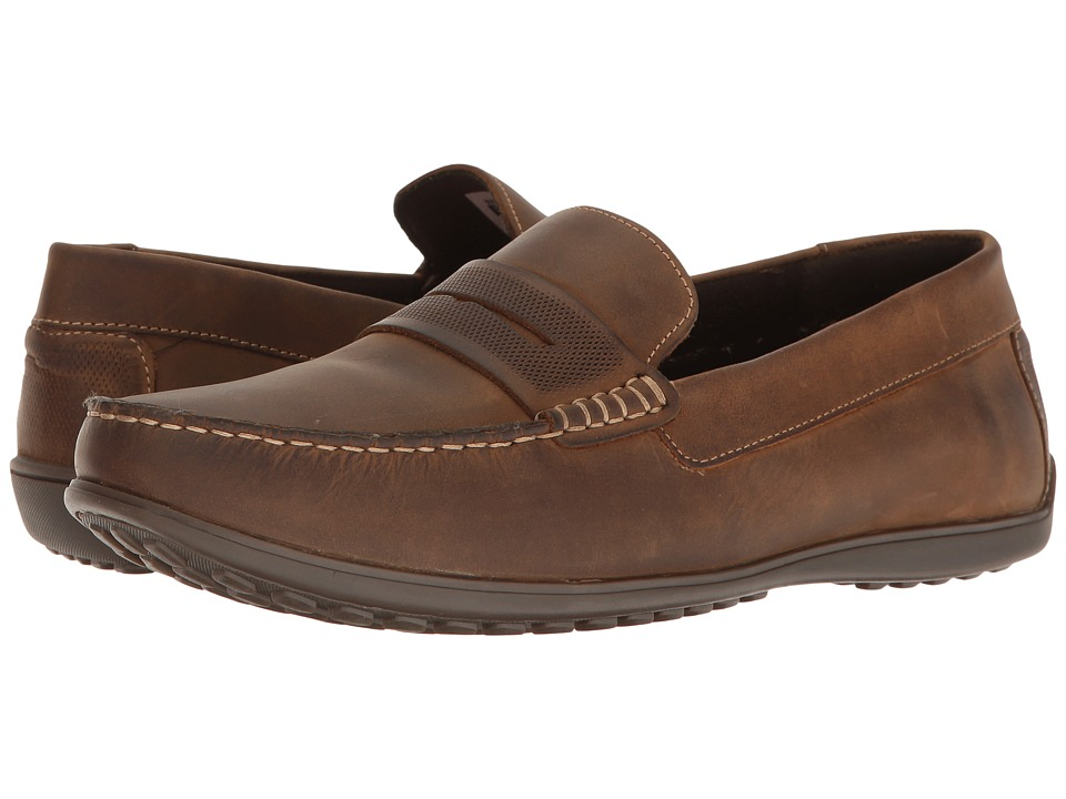 Rockport Bayley Penny (Camel Leather) Men