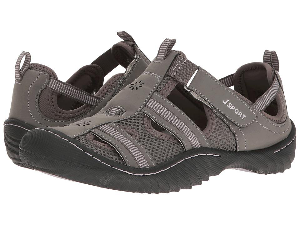 JBU - Regatta (Grey/Orchid Microbuck/Mesh) Women's Shoes