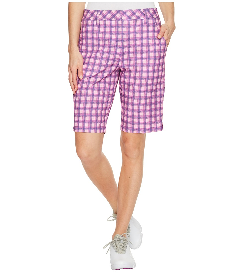 PUMA Golf - Pattern Bermuda Shorts (Royal Purple) Women's Shorts