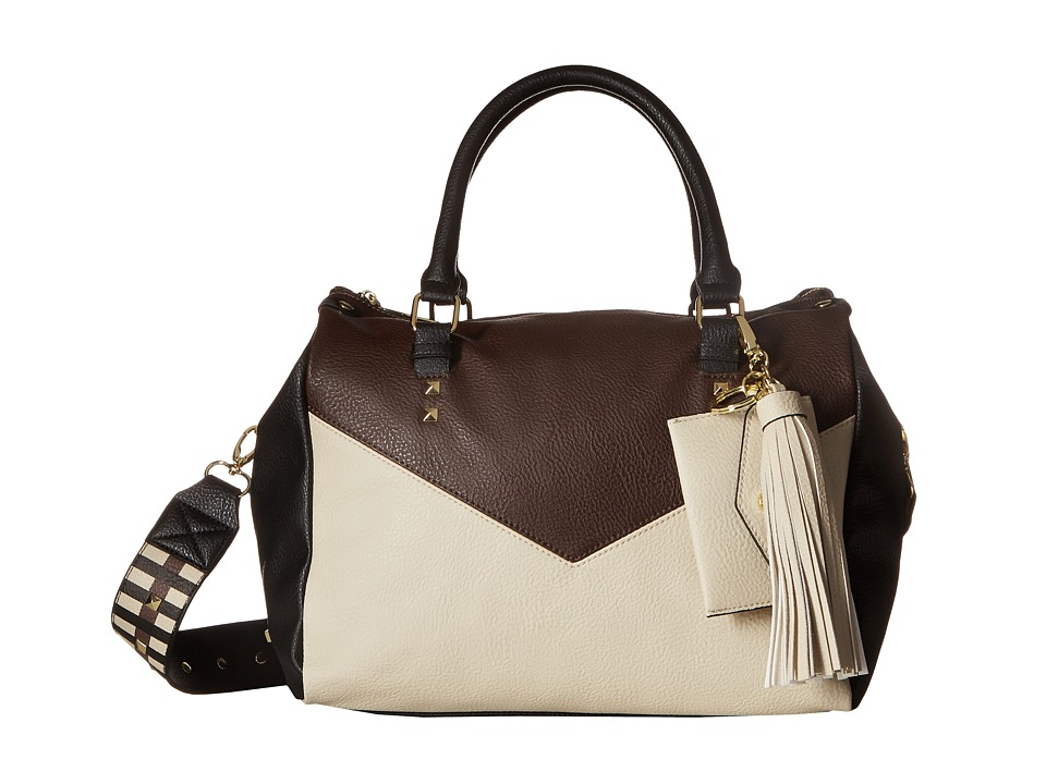 Steve Madden - BLeila Satchel (Cream/Multi) Satchel Handbags