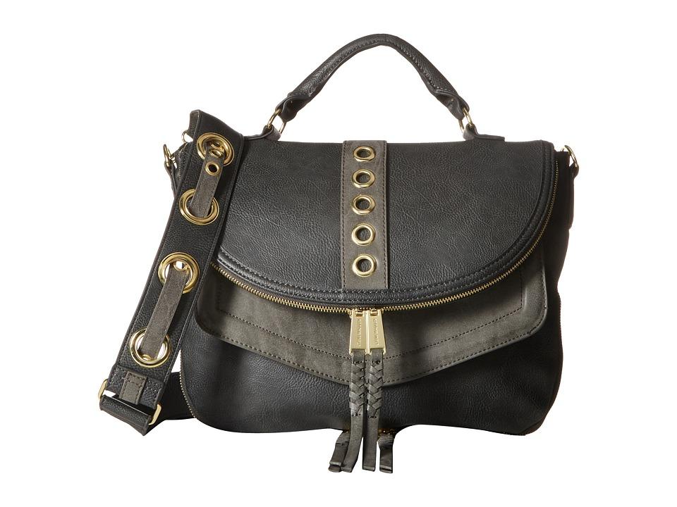 Steve Madden - Roxy Grommet Strap (Slate) Handbags