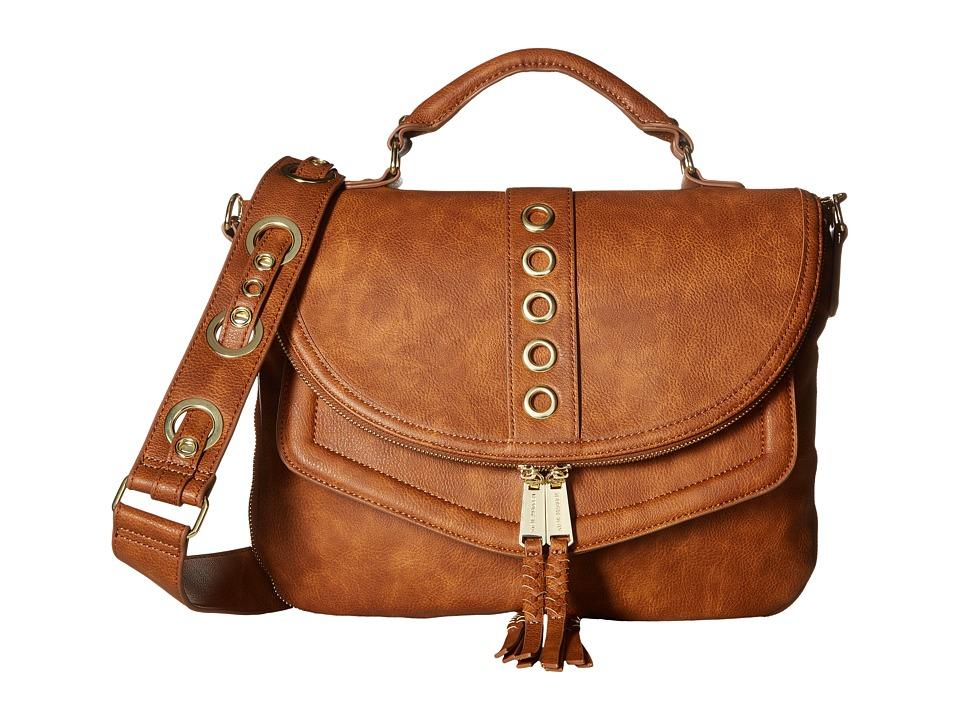 Steve Madden - Roxy Grommet Strap (Cognac) Handbags