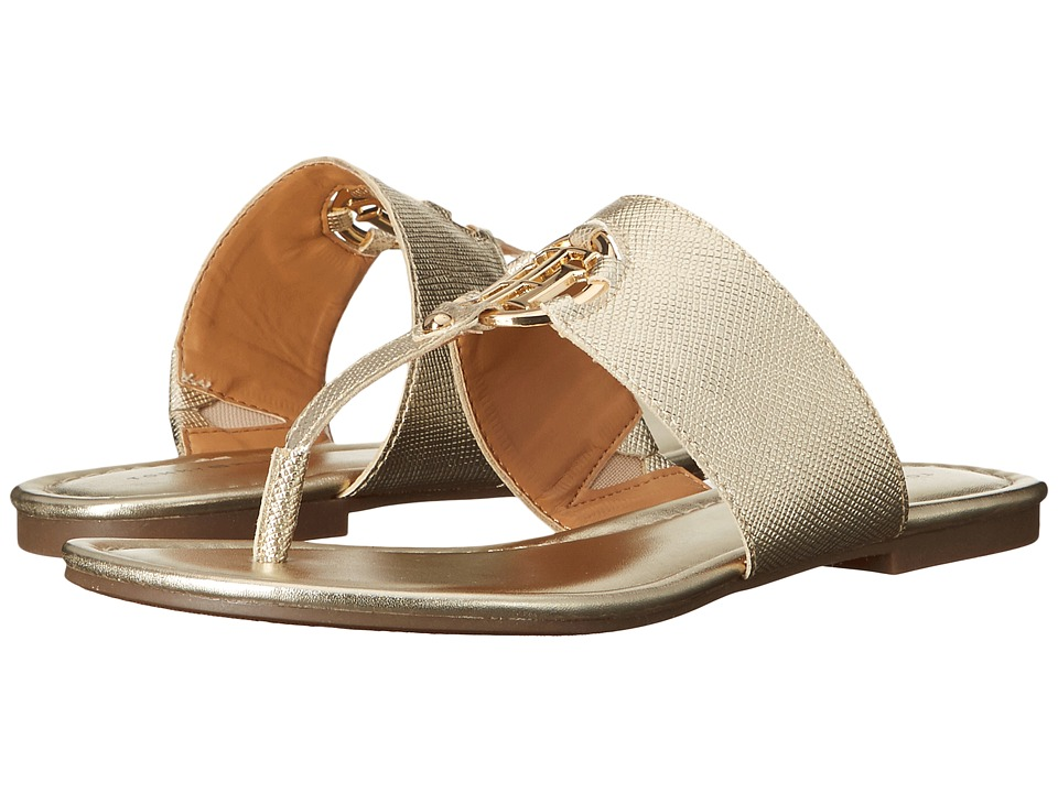 Tommy Hilfiger - Sia (Gold/Gold) Women's Sandals