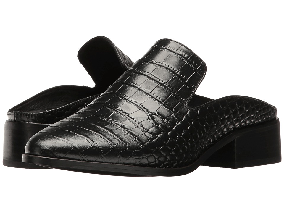 Steven - Springer (Black Croco) Women's Shoes