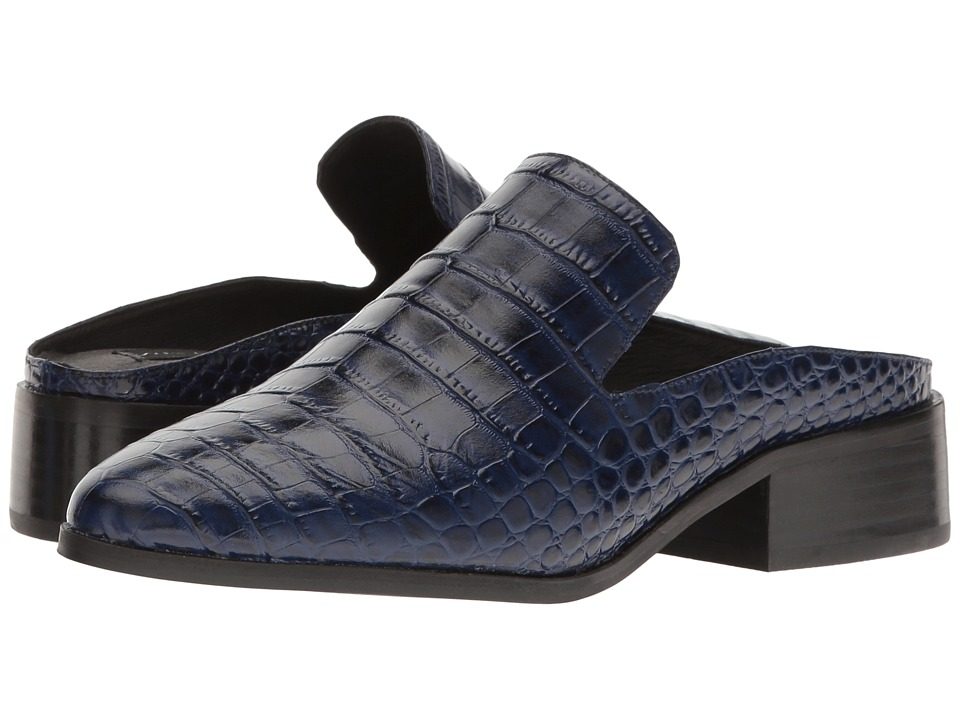 Steven - Springer (Blue Croco) Women's Shoes