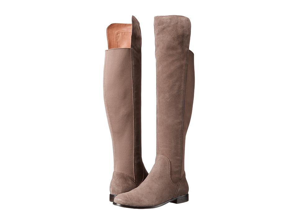Corso Como - Larissa (Taupe Split Suede/Taupe Elastic) Women's Shoes