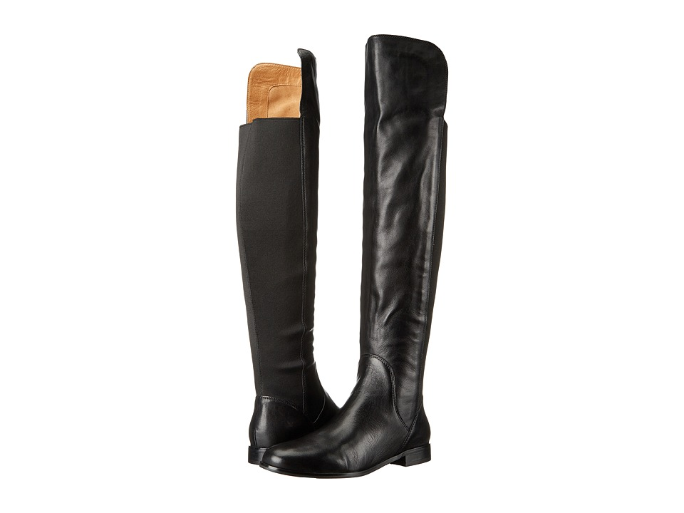Corso Como - Larissa (Black Soft Tumbled/Black Elastic) Women's Shoes