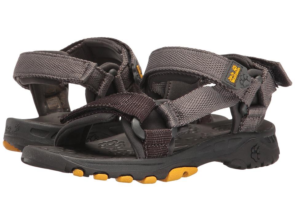 Jack Wolfskin Kids - Seven Seas (Toddler/Little Kid/Big Kid) (Burly Yellow XT) Boy's Shoes