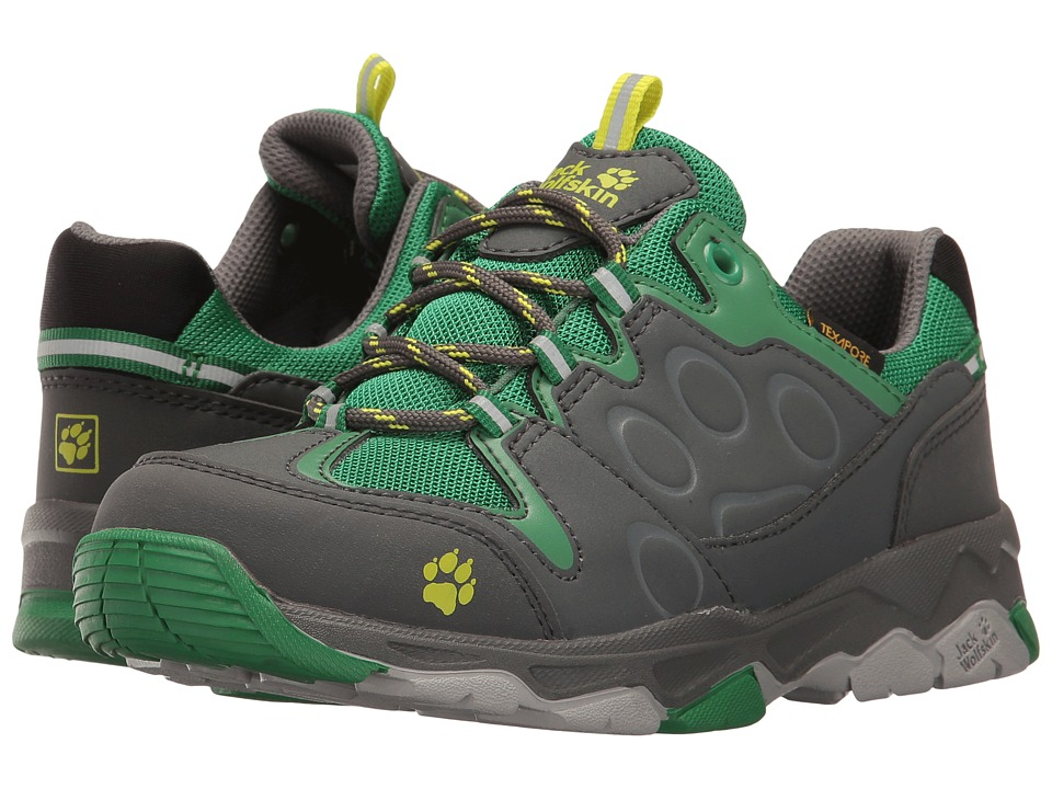 Jack Wolfskin Kids - Mountain Attack 2 Texapore Low (Toddler/Little Kid/Big Kid) (Leaf Green) Boys Shoes