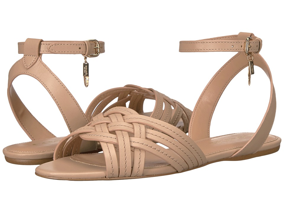COACH - Summers (Beechwood Semi Matte Calf) Women's Sandals