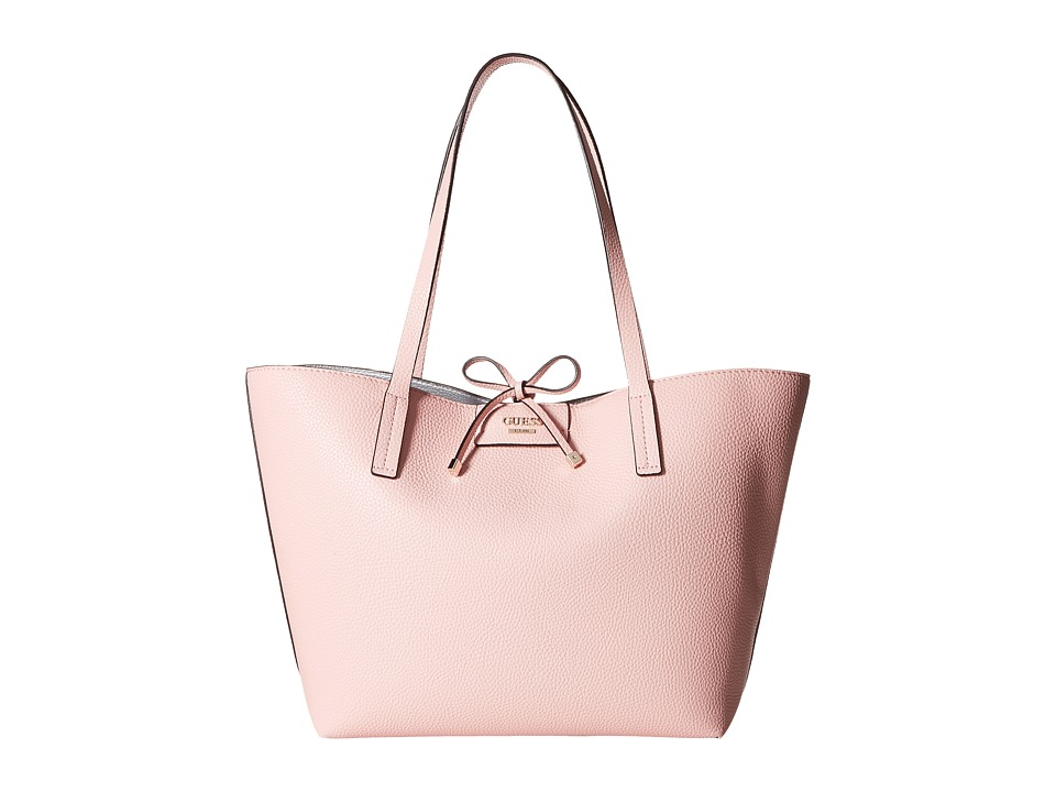 GUESS - Bobbi Inside Out Tote (Rose Multi) Tote Handbags