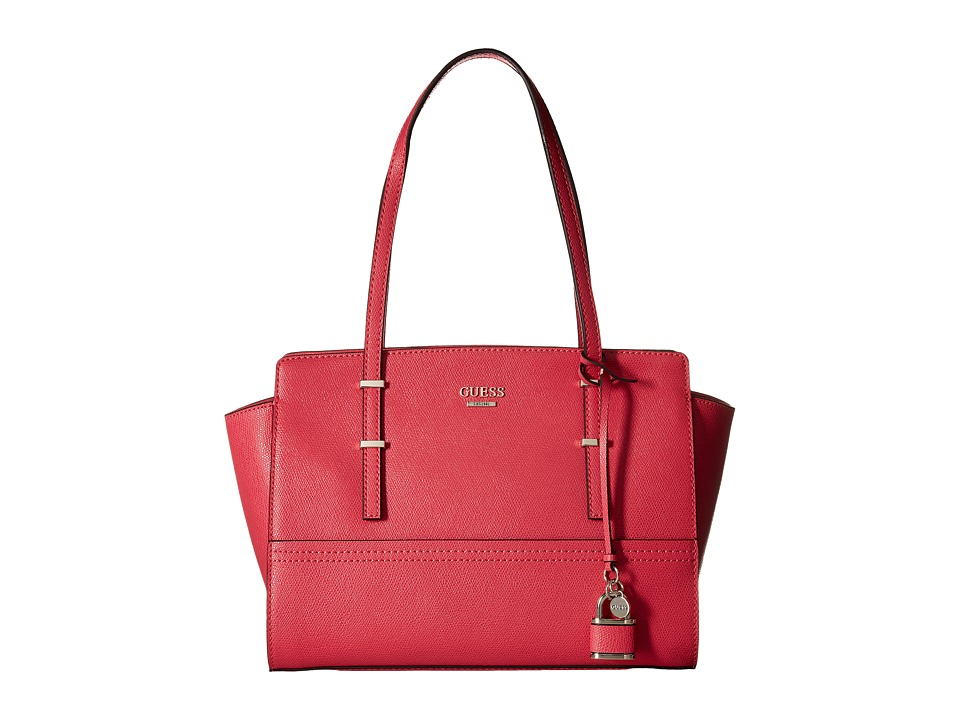 GUESS - Devyn Satchel (Passion) Satchel Handbags