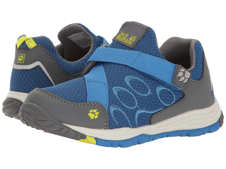Jack Wolfskin Kids - Monterey Ride VC Low (Toddler/Little Kid/Big Kid) (Wave Blue) Boys Shoes
