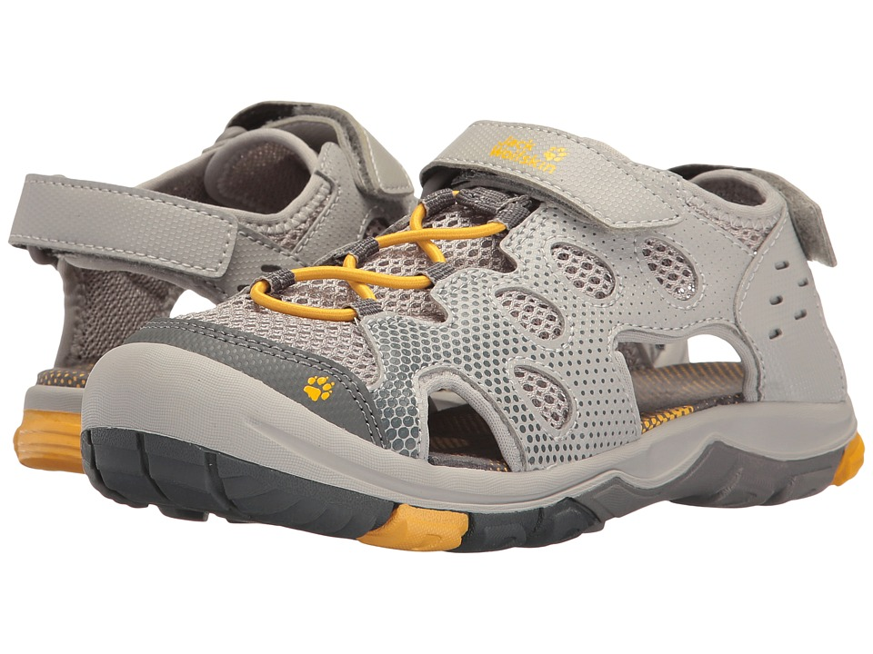 Jack Wolfskin Kids - Titicaca VC Low (Toddler/Little Kid/Big Kid) (Burly Yellow XT) Boys Shoes